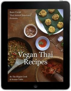 Vegan Thai Recipes Cookbook: The Hippie Cook