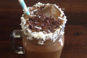Chocolate Caramel Protein Smoothie