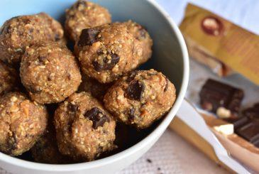 Vegan chocolate peanut butter balls - vegan recipes
