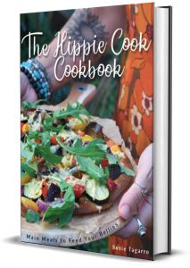The Hippie Cook Cookbook print book cover