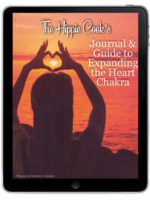 The Hippie Cook's Journal and Guide to Expanding the Heart Chakra Ipad icon