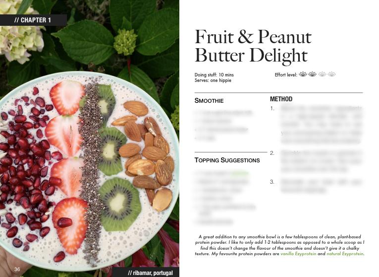 vegan smoothie bowl recipes peanut butter preview